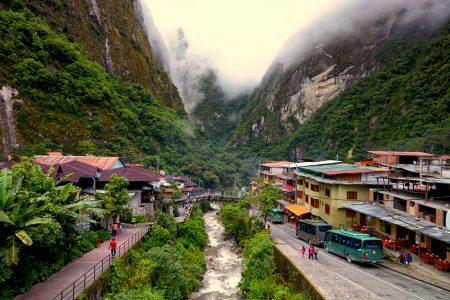 Aguas Calientes, au pied du Machu Picchu