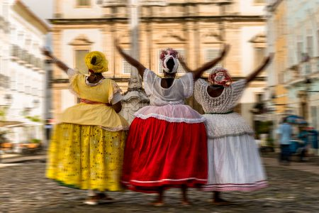 femmes baianaises en célébration