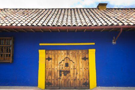 Bogota, ruelle dans le centre