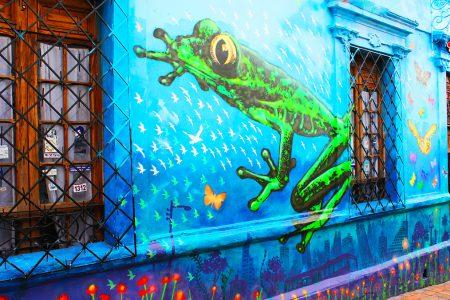 Graffiti à Bogota