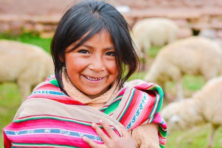 jeune fille aymara