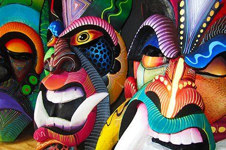 masques boruca