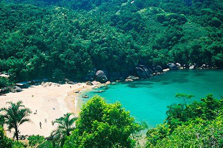 village caiçara sur la Costa Verde