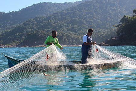 pêcheurs caiçaras