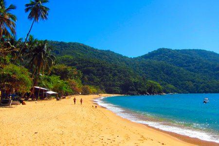 randonnée, praia da Cajaiba