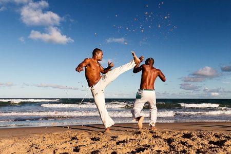danseurs de capoeira dans le nordeste