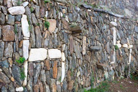 Choquequirao, terrasses ornées de lamas de pierre