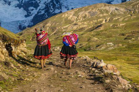 femmes sur le trek de Choquequirao