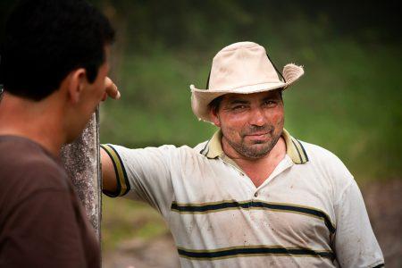 éleveur de bétail, vallée centrale