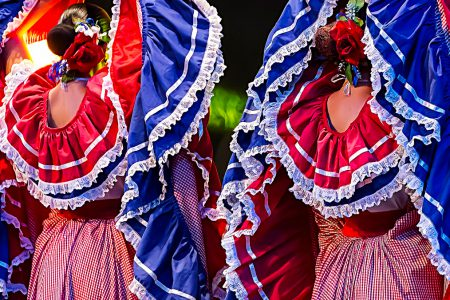 danse folkorique costaricienne