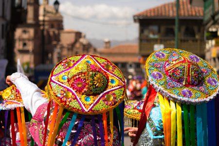 femmes dans les rues de Cusco