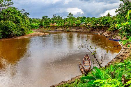fleuve en Amazonie équatorienne