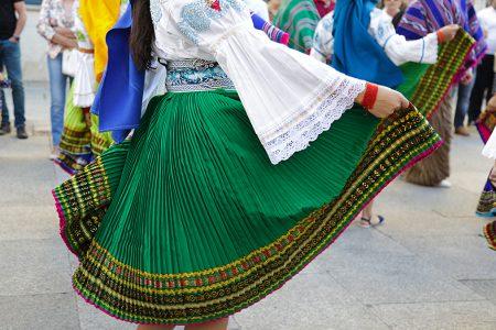 fête folklorique à Quito
