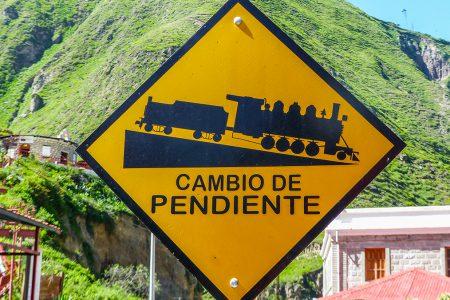 panneau de signalisation, Equateur