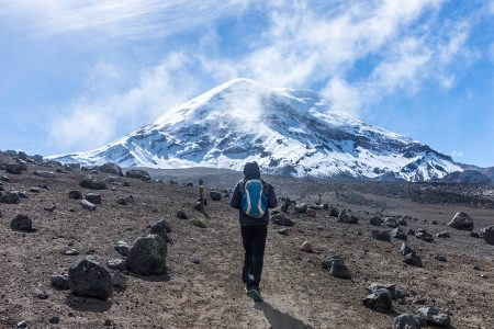randonnée dans les Andes équatoriennes