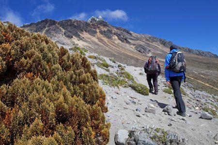 rando dans les Andes en Equateur