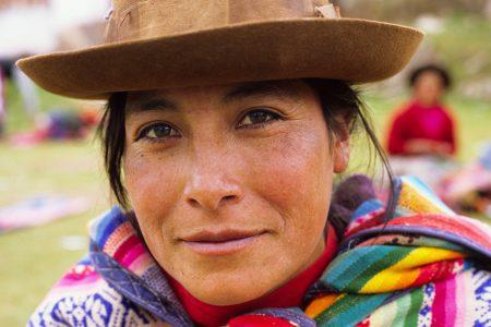 agricultrice dans la région de Cusco