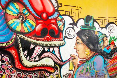 street art à La Paz