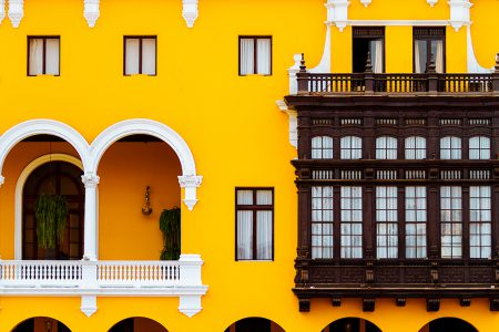 Lima, façade coloniale