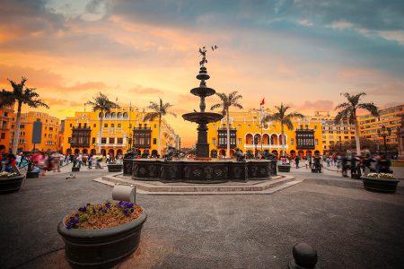 Lima, dans le centre ville