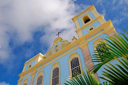 église dans le Nordeste