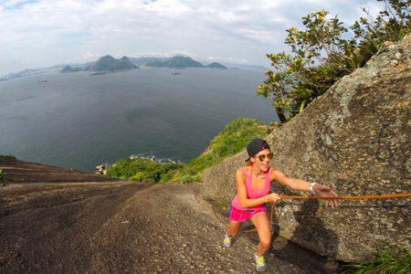Rio, randonnée au pain de sucre