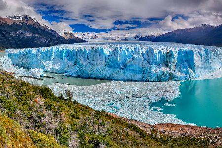 vue d'ensemble du Perito Moreno