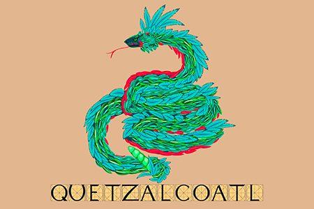 quetzalcoatl, le serpent à plumes