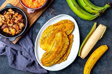 recette des patacones, plat typique colombien