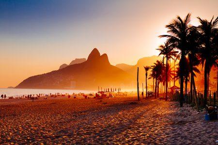 Rio, plage d'Ipanema