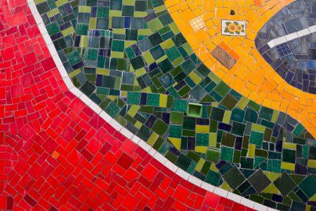 Rio, détail d'une mosaïque