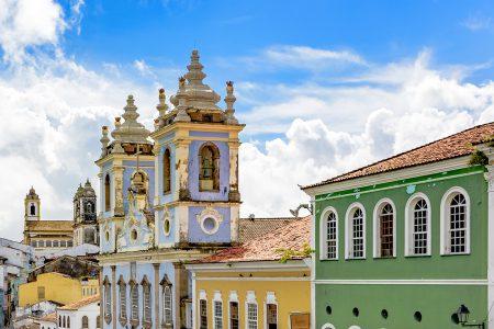 Salvador, façades du Pelourinho