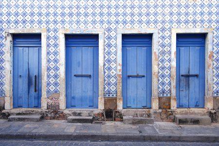 Sao Luis, façade d'azulejos