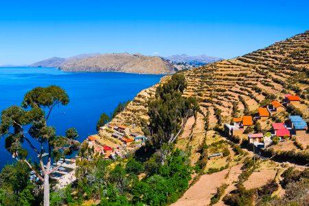 village du lac Titicaca