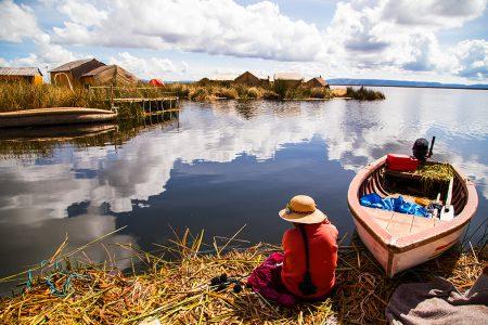 lac Titicaca, village lacustre