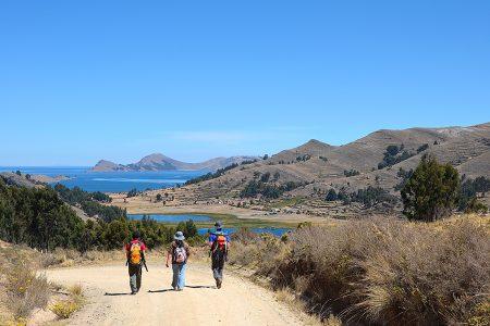 randonnée lac Titicaca