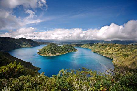 Cuicocha, lagune légendaire