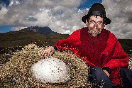 Le dernier hielero du Chimborazo